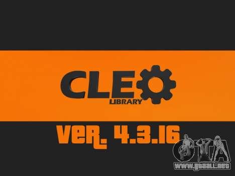 CLEO 4.3.16 para GTA San Andreas