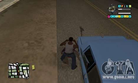New HUD by Ptaxa1999 para GTA San Andreas tercera pantalla