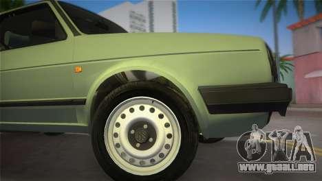 Volkswagen Golf II 1991 para GTA Vice City vista lateral izquierdo
