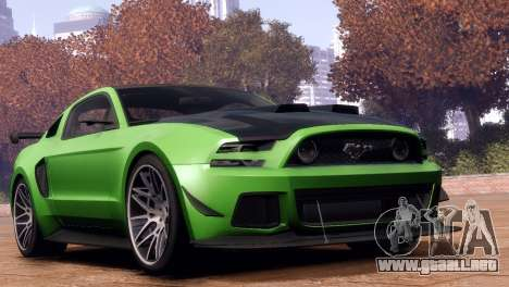 Ford Mustang GT 2014 Custom Kit para GTA 4