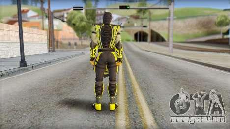 Scorpion Skin v2 para GTA San Andreas segunda pantalla