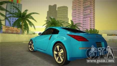 Nissan 350Z para GTA Vice City left