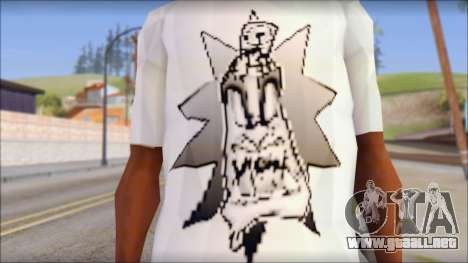 Spray Can Comic T-Shirt para GTA San Andreas tercera pantalla