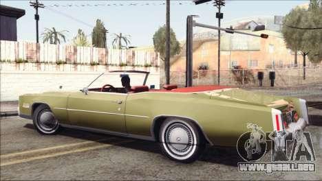 Cadillac Eldorado Stock para GTA San Andreas left