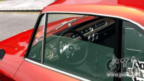 Lancia Fulvia HF para GTA 4 visión correcta