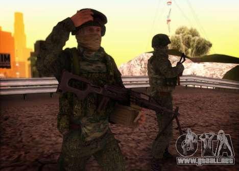 El ataque de las fuerzas especiales del interior para GTA San Andreas
