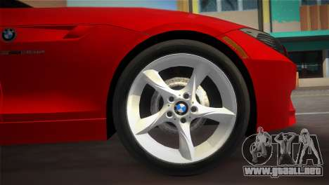 BMW Z4 sDrive35is para GTA Vice City visión correcta