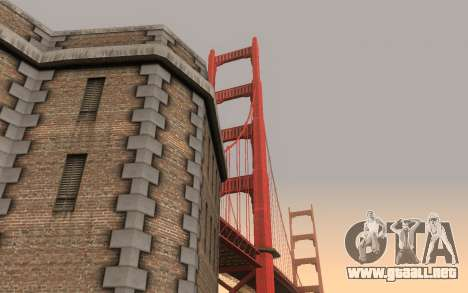 ENBSeries v5.2 Samp Editon para GTA San Andreas sucesivamente de pantalla