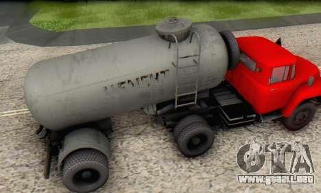 Trailer de cemento portador de la TTC 26 para la visión correcta GTA San Andreas