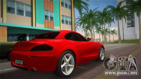 BMW Z4 sDrive35is para GTA Vice City left
