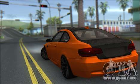 BMW M3 E92 Soft Tuning para GTA San Andreas left
