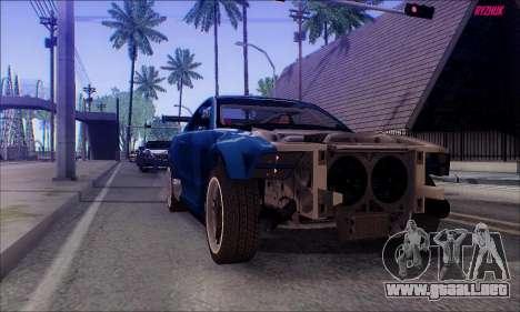 Ford Mustang GTR para la visión correcta GTA San Andreas
