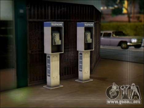 Calle de teléfono para GTA San Andreas segunda pantalla