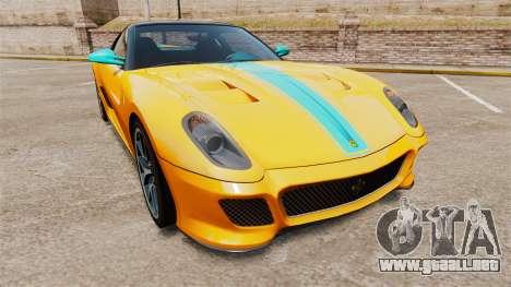 Ferrari 599 GTO PJ2 para GTA 4