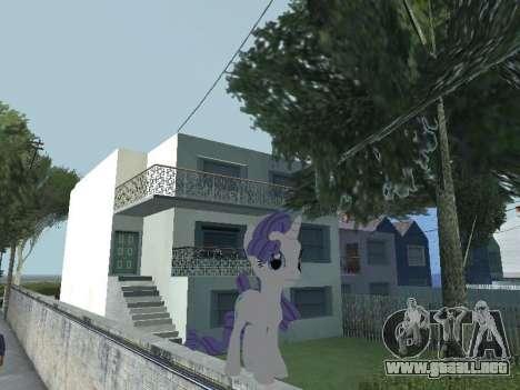Rarity para GTA San Andreas quinta pantalla