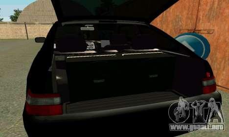 VAZ 21123 Turbo para vista inferior GTA San Andreas