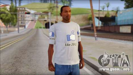 The Likersable T-Shirt para GTA San Andreas
