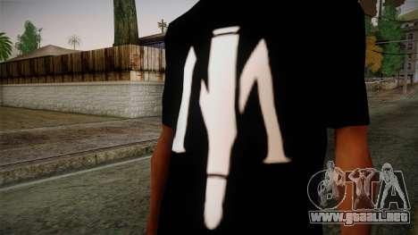 Shirt Madafaka para GTA San Andreas tercera pantalla