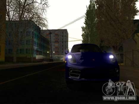 ENB por Makar_SmW86 v5.5 para GTA San Andreas sucesivamente de pantalla