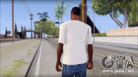 Spray Can Comic T-Shirt para GTA San Andreas segunda pantalla