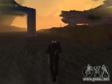 Caminando sobre el agua para GTA San Andreas sucesivamente de pantalla