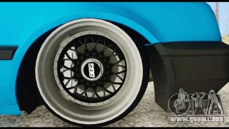 Volkswagen MK3 deLidoLu Edit para la visión correcta GTA San Andreas