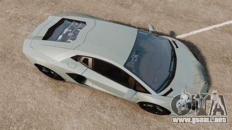 Lamborghini Aventador LP700-4 v2 [RIV] para GTA 4 visión correcta