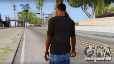 Just Do It NIKE Shirt para GTA San Andreas segunda pantalla