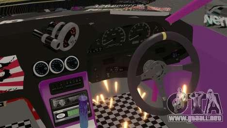 Nissan S13 MAD DRIFT para la visión correcta GTA San Andreas
