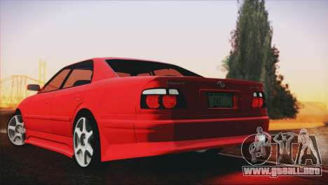 Toyota Chaser Tourer Stock V2.5 1999 para GTA San Andreas left
