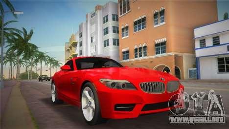 BMW Z4 sDrive35is para GTA Vice City