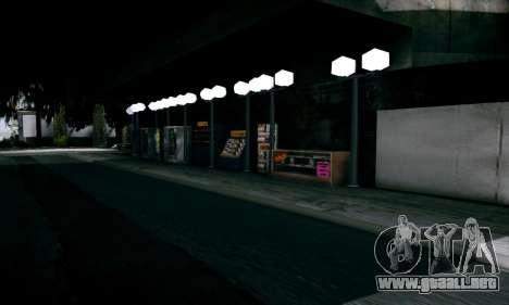 New Santa Maria Beach v1 para GTA San Andreas sucesivamente de pantalla