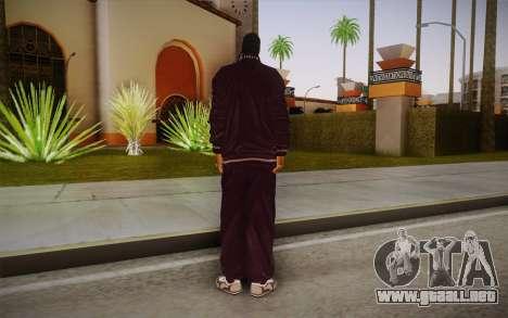Snoop Dogg Skin para GTA San Andreas segunda pantalla