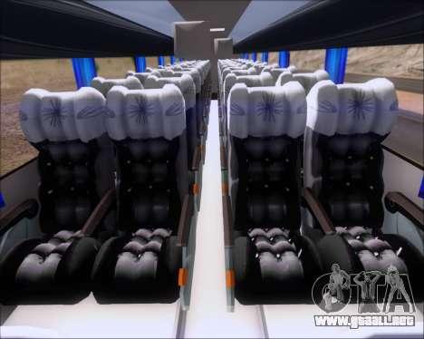 Busscar Vissta Buss LO Mercedes Benz 0-500RS para GTA San Andreas vista hacia atrás