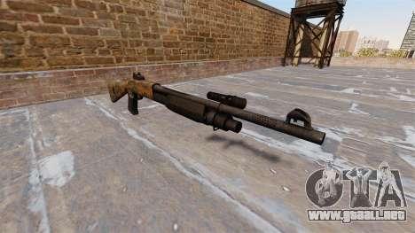 Ружье Benelli M3 Super 90 de la selva para GTA 4