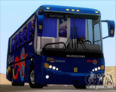 Busscar El Buss 340 Bio Linatal para la vista superior GTA San Andreas