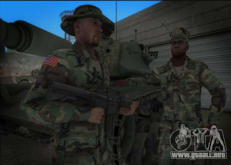 90s California National Guard para GTA San Andreas