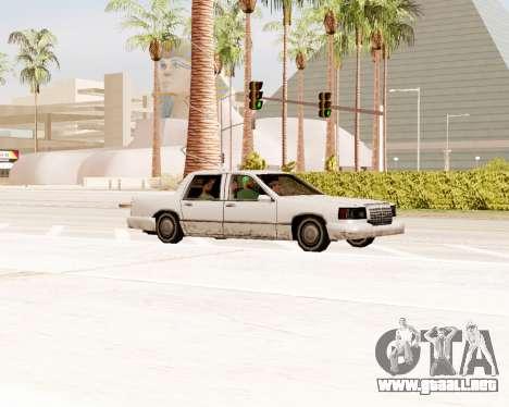 Tramo Sedán para la visión correcta GTA San Andreas