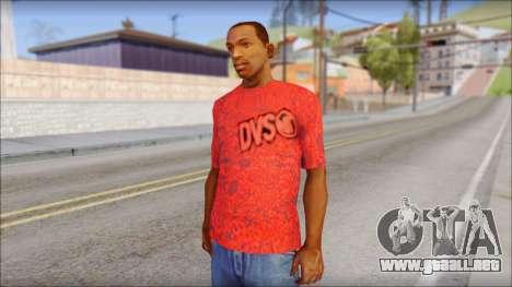 DVS T-Shirt para GTA San Andreas