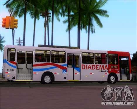 Comil Svelto 2008 Volksbus 17-2 Benfica Diadema para visión interna GTA San Andreas