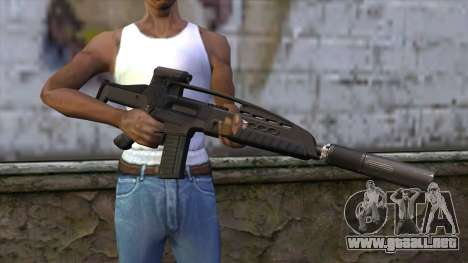 XM8 Assault Black para GTA San Andreas tercera pantalla