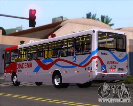 Comil Svelto 2008 Volksbus 17-2 Benfica Diadema para la visión correcta GTA San Andreas