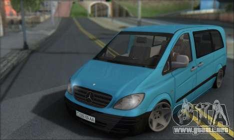 Mercedes-Benz 115 CDI Vito 2007 Stance para GTA San Andreas left