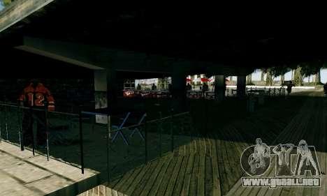 New Santa Maria Beach v1 para GTA San Andreas quinta pantalla