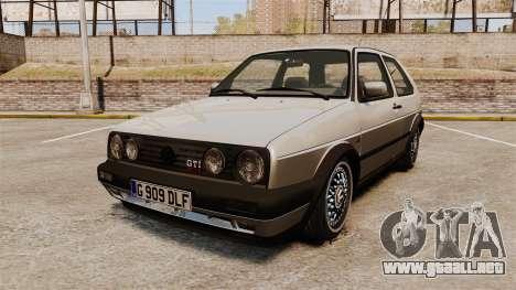 Volkswagen Golf GTI Mk2 para GTA 4