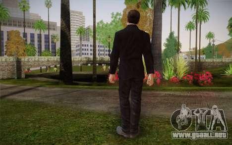 Anonymous Skin para GTA San Andreas segunda pantalla