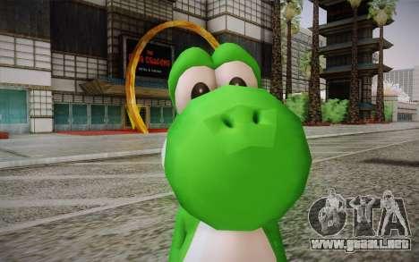 Yoshi from Super Mario para GTA San Andreas tercera pantalla