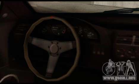 Ubermacht Zion XS 1.0 para GTA San Andreas vista posterior izquierda