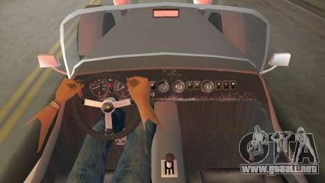 Caterham Super Seven para GTA Vice City vista lateral izquierdo