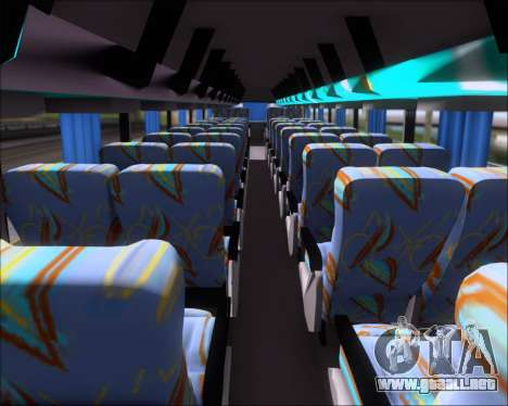 Busscar Jum Buss 400 Volvo B10R Pullman Del Sur para la vista superior GTA San Andreas